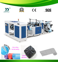 Two Lines Rolls-Connecting & Dots-Severing pe garbage bag making machine