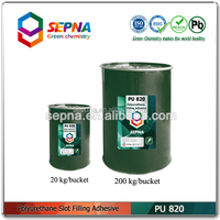 Hot sales!PU820 is enviroment friendly polyurethane sealant for sealing the airport potting the adhesive