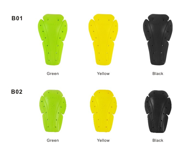YF On-road/ motocross running soft Hilon green elbow pad/knee pad