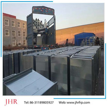 High quality galvanized steel air conditioning duct rectangle shape