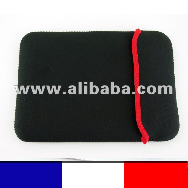 9,7 inch Soft Protect Cloth Bag Pouch Cover Case for Tablet PC MID Notebook Black Color