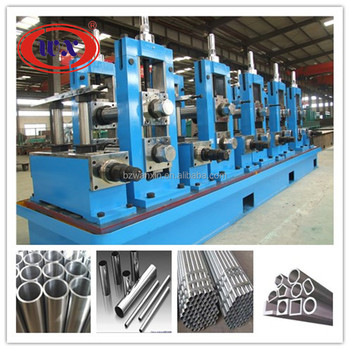 automatic carbon steel round/square/rectangular pipe building material machine