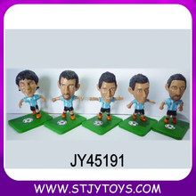 football player star figure plastic toys footballers figures