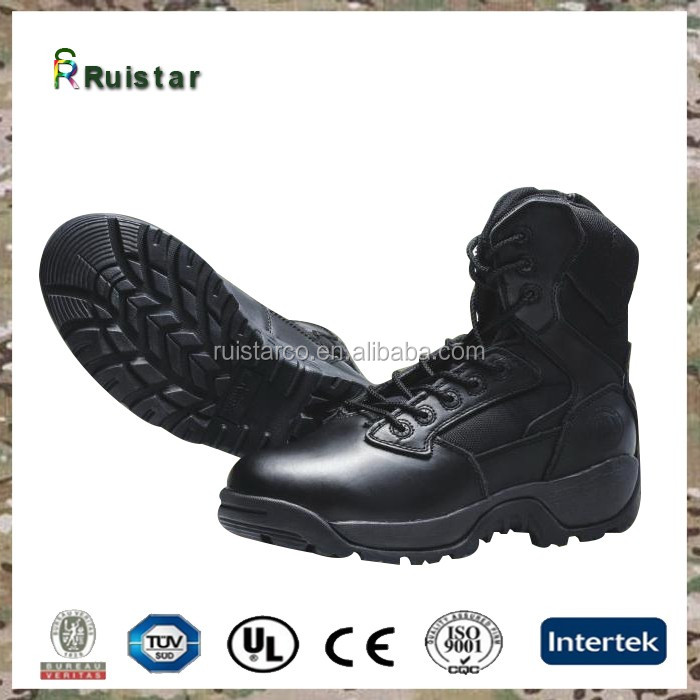 new design custom combat boots woodland army boots shoes black army military