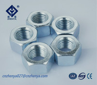 stainless steel 304 316 A2 A4 din934 hexagon nuts fastener manufacturer