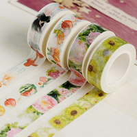 high quality hotsale 100 design stock AGU brand Japanese rice paper tape