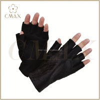 Discount Leather Working Gloves/ Leather Soldering Gloves/Cow Split Leather Glove