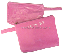 Wet&Dry Bathing Suits Bag Convenient Seperated Cosmetic Bag 2 Piece Set Bag For Beach Needs