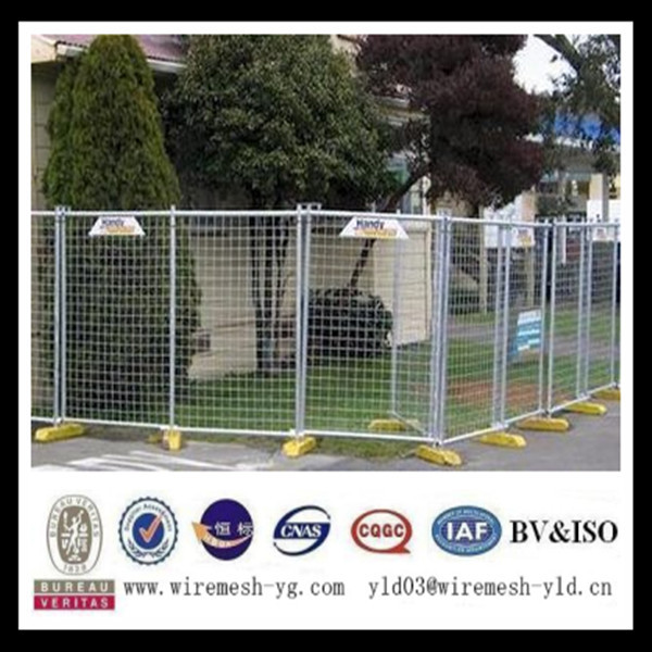 347 Stainless steel Galvanized temporary welded wire fence panels(ISO9001)