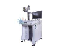 desktop CO2 laser marking machine for leather, paper, plastic, electronic parts, packging box