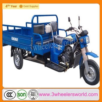 Chongqing Manufacture Top Seller 250cc Water Cooling Three Wheel Cargo Motorcycle for Sale