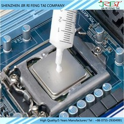 High electronic thermal conductivity silicone grease