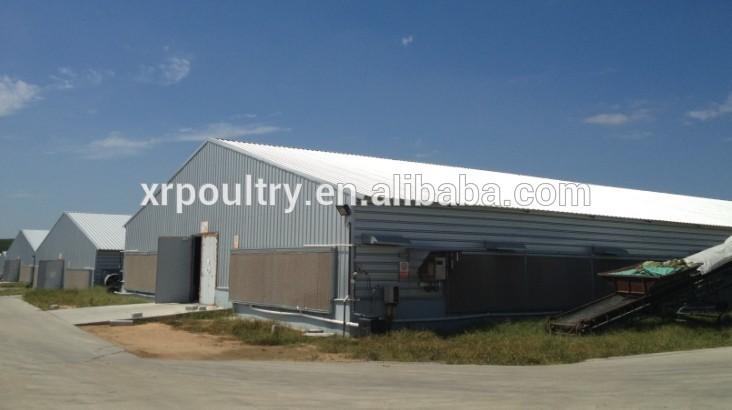 hangar volailles d 39 levage pr fabriqu. Black Bedroom Furniture Sets. Home Design Ideas