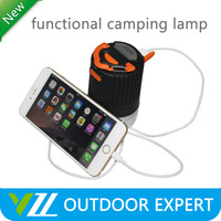 Brightest Mini Portable Rechargeable 16 Led Camping Lanterns with Battery Operater Led Small camping lights
