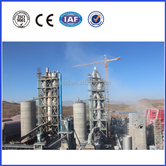 Professional cement production line design and construction with low cost