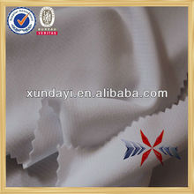 knitted 100%polyester quick dry&UV CUT white elastic stripe fabric for t-shirt