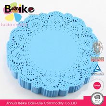 Modern style super quality beautiful colored paper doilies