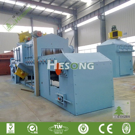 Continuous Conveyor Belt Shot Blasting Machine For Portable steel structure bridge