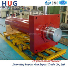 Large flange installation equipment dedicated press hydraulic cylinder