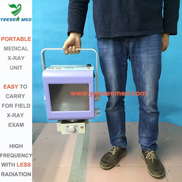 4kw medical radiography mobile portable chest x ray machine