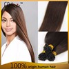 Hot New Products 2015 Golden Suppliers Italian Keratin Glue virgin hair i tip hair extension straight hair