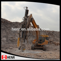 hydraulic power hard rock china drilling rig for tough working condition