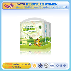 Good quality new style baby printed adult diaper