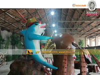 amusement park statue inflatable characters animatronic cartoon model
