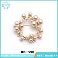 Pearl Bead Brooches Initial Brooch Cross Brooches