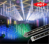 new gray led christmas lights 3d dmx controller led rain tube light