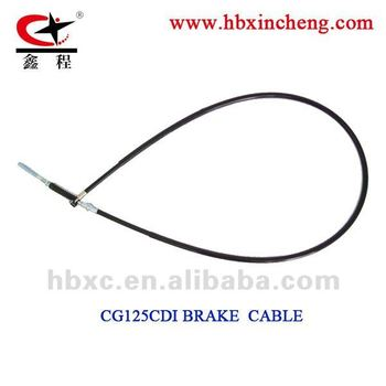 motorcycle cable , CG125CDI brake cable factory in hebei
