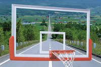 Wholesale 5mm Basketball Backboard with Acrylic Transparent glass
