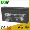 (Horizontal) Rechargeable lead acid battery 6v 3.2AH 6V ups battery for fire alarm