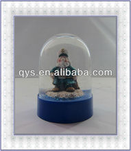 2014 resin new snow globe
