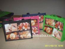 ecological new photo inserting non woven shopping bag