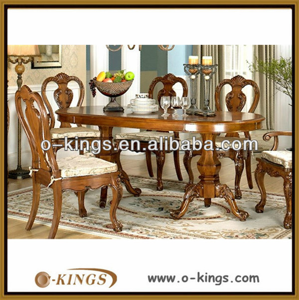 solid birch wood dining room furniture set