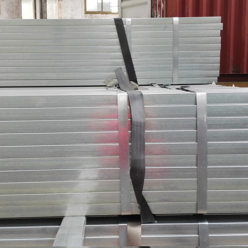Cold Rolled SS400 Pre Galvanized Steel Tube Square Hollow Section Pipe