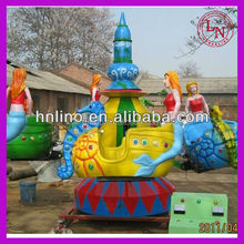 Mini park attraction !outdoor amusing kiddie ride fiberglass toys
