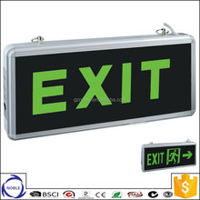 Factory led rechargeable emergency exit Left arrow light with CE and ROHS
