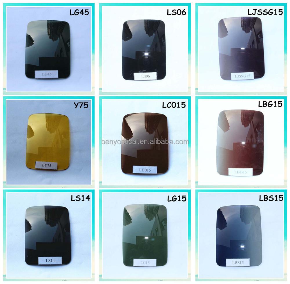 옵션 진정한 비전 화재 레드 컬러 렌즈 무료 샘플