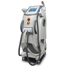 Salon Equipment E-light ND Yag laser and RF Skin Tightening Laser Beauty Equipment Laser Tattoo Removal