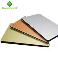 Greenbond PVDF coating aluminium composite panel sheet silicone sealant