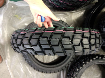 China high quality tubeless motorcycle tire 100-90-17 with nes cross pattern