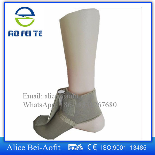 2017 Hot New Products Medical Foot Supporter Foot Drop Splint Orthopedic Ankle Support Brace