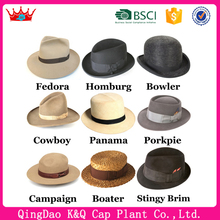 Fashion high quality cheap fashionable pictures of mens hats