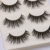 Veteran 3 pairs 3d synthetic false eyelashes with package box