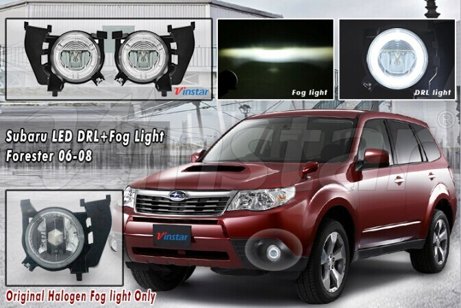 OE Metal Bracket Forester 2006~2008 10w LED Fog Lamp 9.5W DRL LED Light