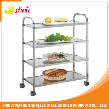 Hottest Stainless Steel Hotel Wine Trolley/Liquor Cart/Wine Service Cart