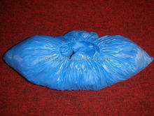medical and dental supplies plastic PE shoes cover