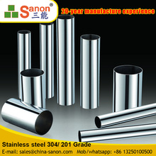 ERW Polished Outdoor Stair Low Prices Of Stainless Steel Balcony Railing